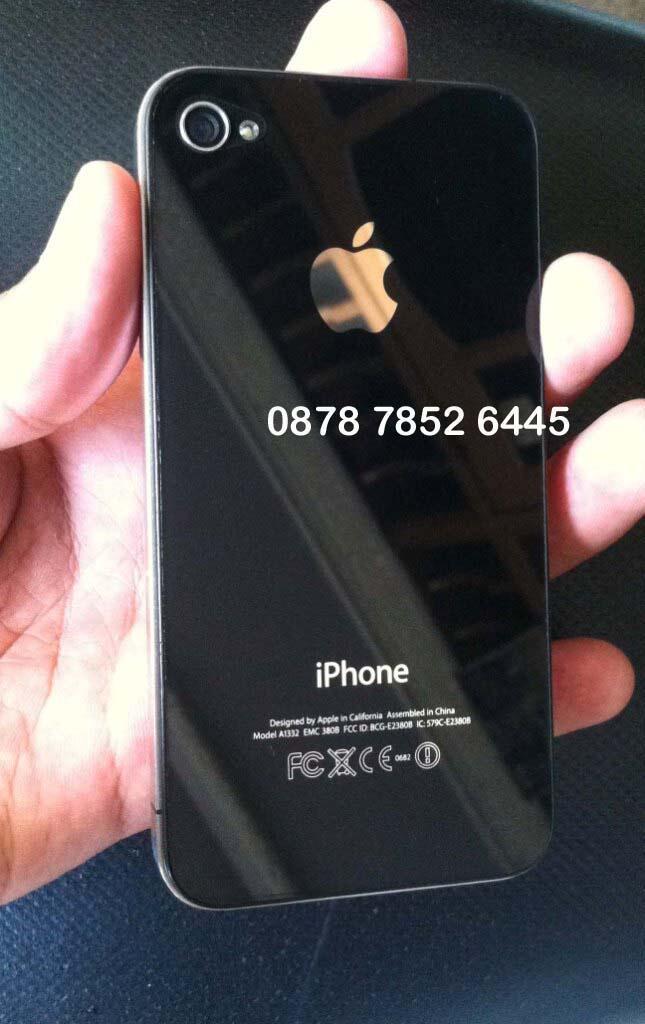 iPhone 4 16GB FU Black ex cewe