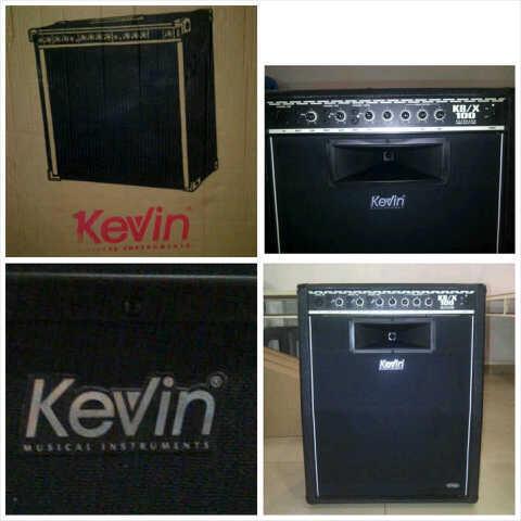 Jual amply / ampli Keyboard merk Kevin 100 watt, harga terjangkau kualitas memukau