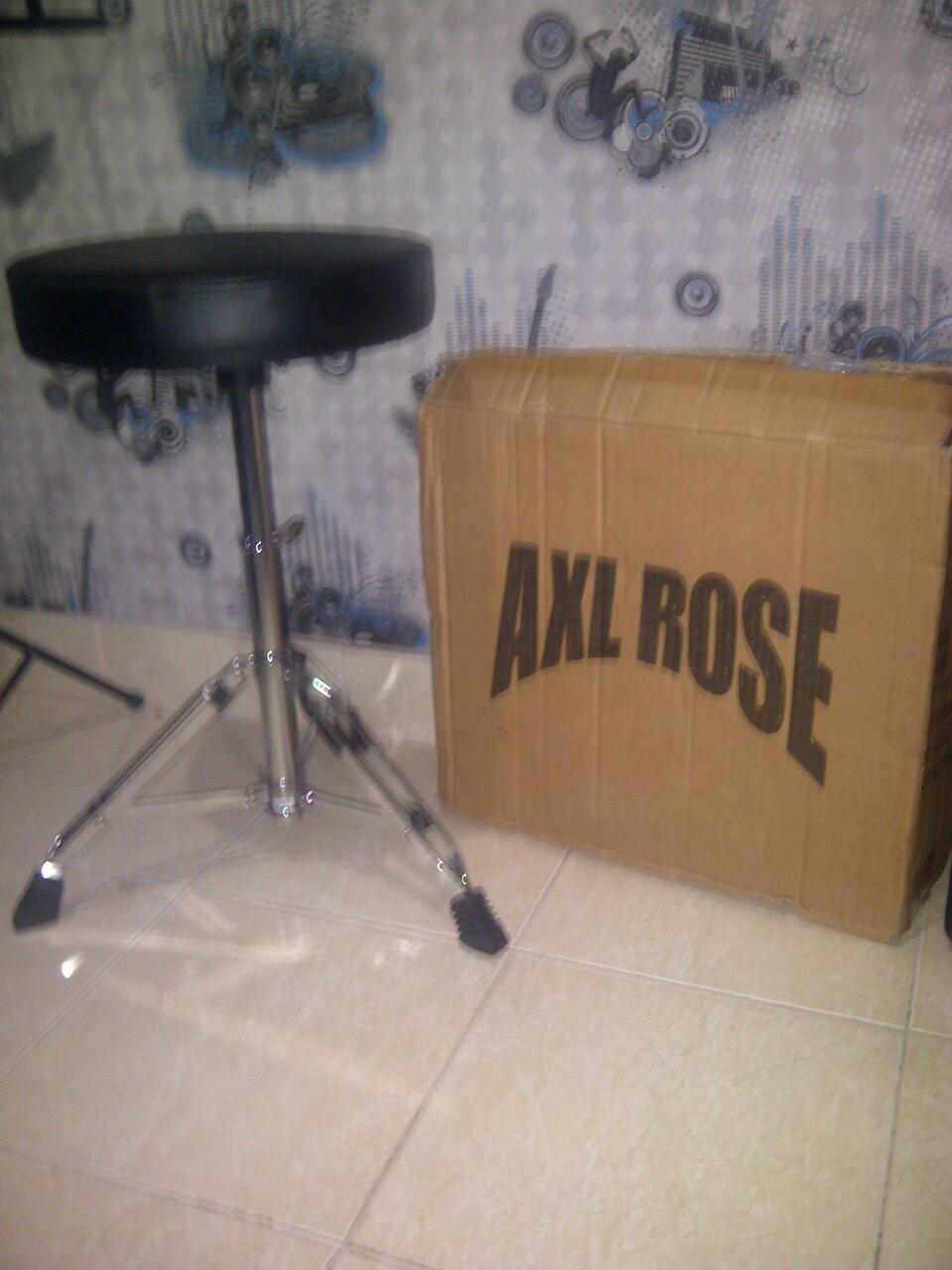 Jual bangku / kursi drum merk AXL ROSE harga terjangkau masuk gan