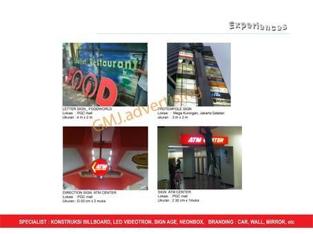 Jasa pembuatan/produksi Neonbox | Billboard | Led Videotron| Best Price!