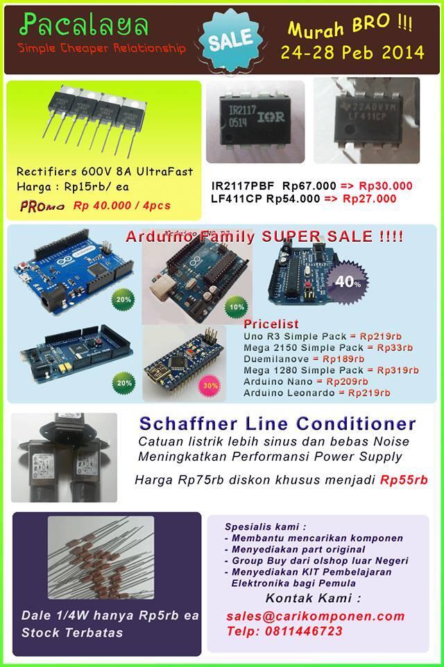 PACALAYA ELECTRONIC : Jual Komponen elektronika , kirim se Indonesia
