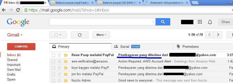 [WTS] Balance Paypal Legal hasil programming 100% legit terpercaya
