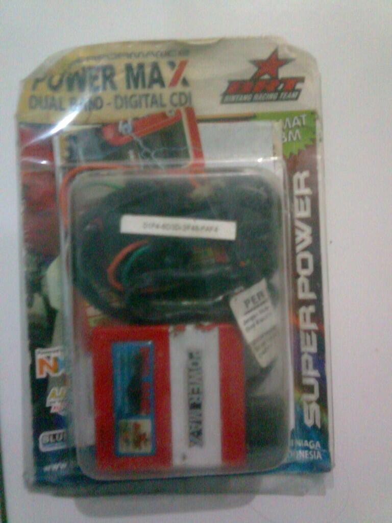 CDI BTR POWER-MAX DUAL BAND UNTUK MIO SMILE