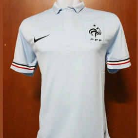 (Ready Stock) Jersey FRANCE / PRANCIS AWAY BLUE 2013 NIKE PLAYER ISSUE Murah!!