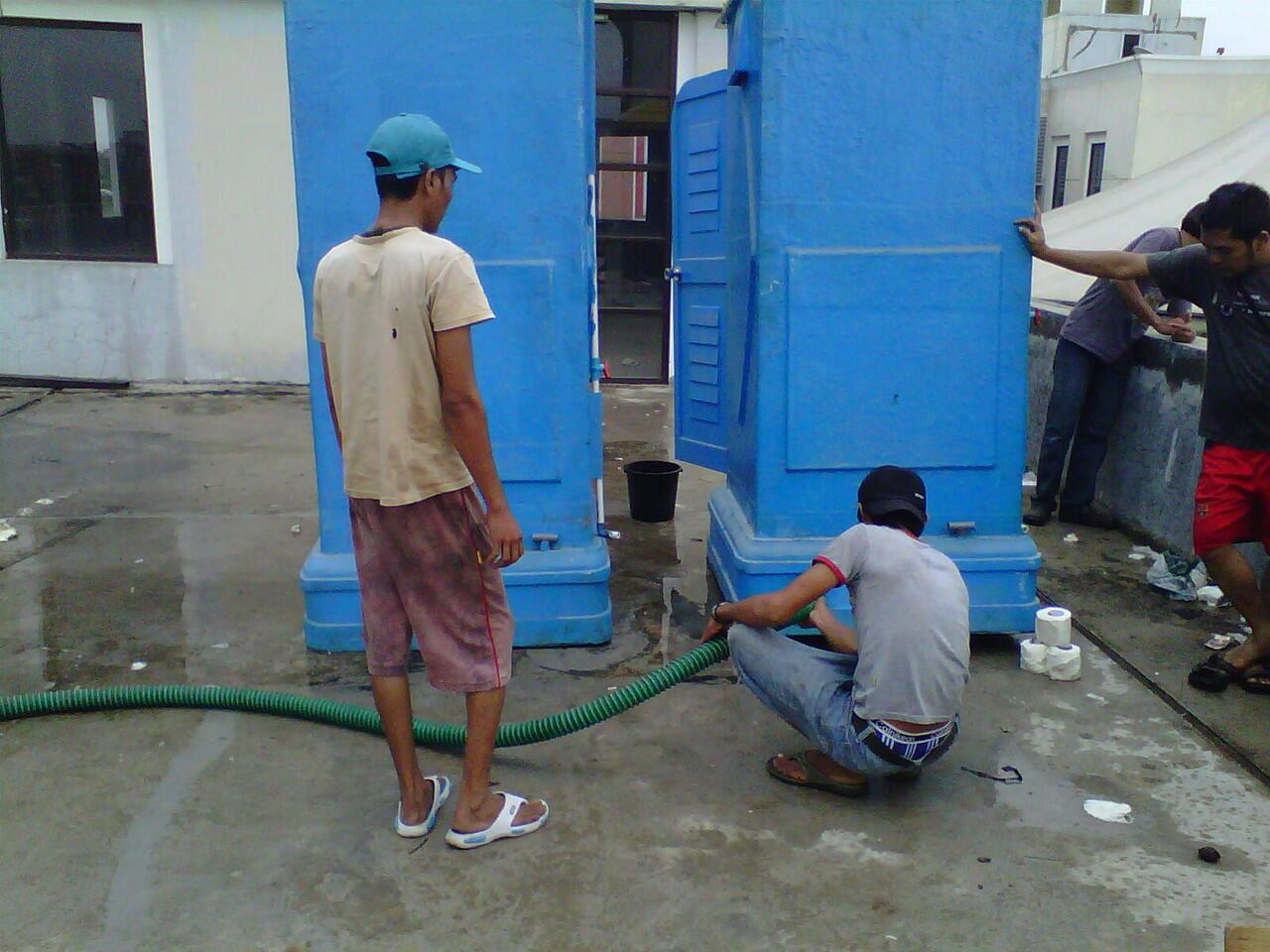 Jual toilet portable murah,produsen toilet portable modern Biolast,Sewa toilet