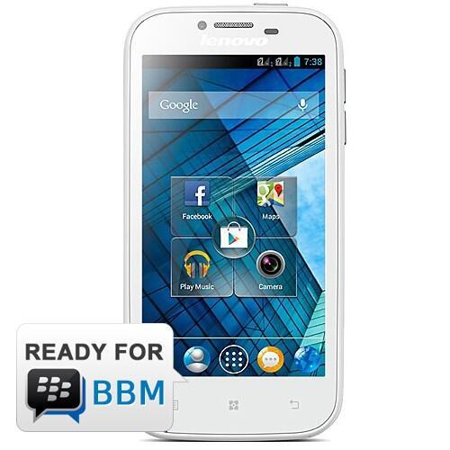 Lenovo A706 White {READY FOR BBM}