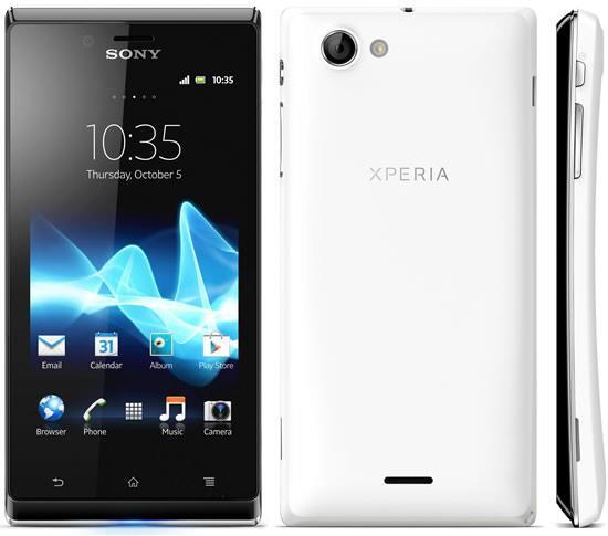 Sony Xperia J ST26i - White