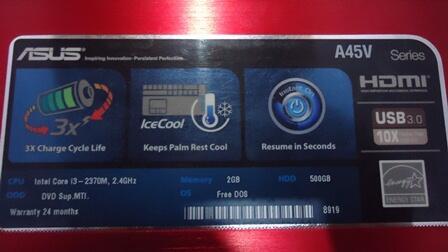 laptop game ASUS ---nVIDIA 2GB-- garansi resmi REKBER masuk gan...