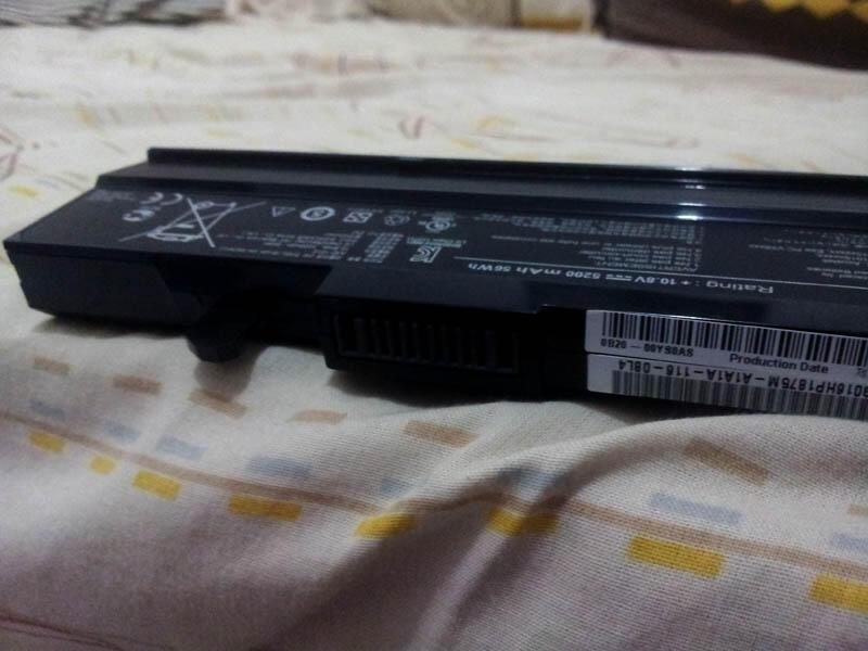 Baterai Laptop Asus Eee PC Ori, copotan Netbook Asus 1015b (SURABAYA)