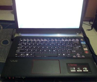 Jual Laptop Gaming Sony Vaio 13.3 inch backlit keyboard SVE14A15FGB Murah