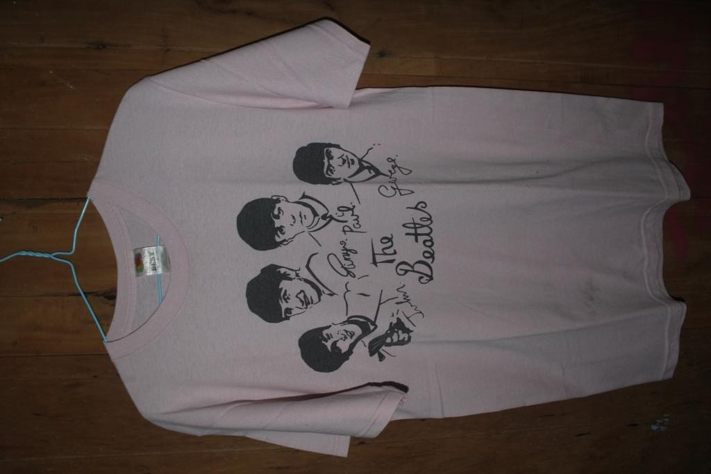 Jual kaos merch the beatles
