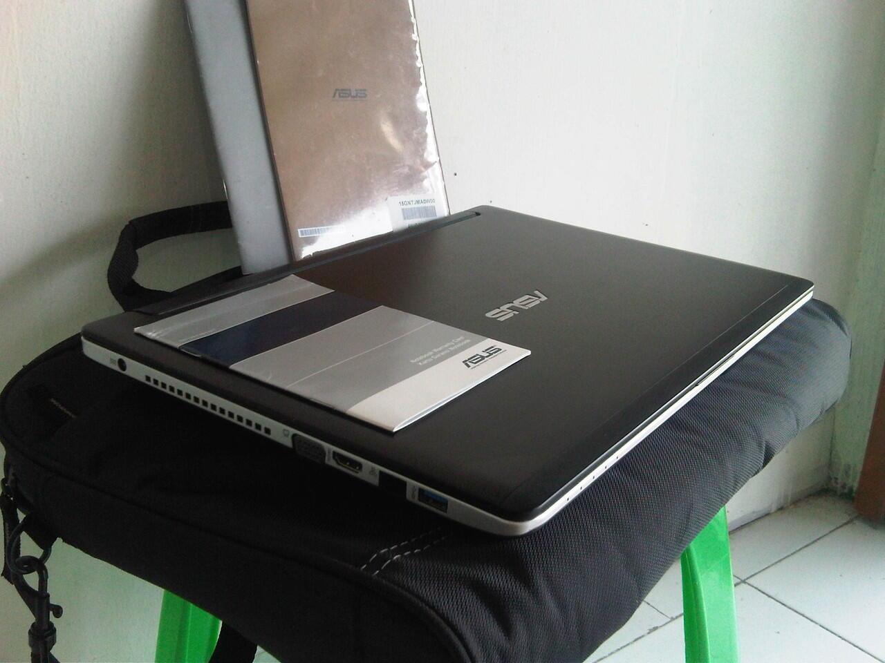 Asus A46C i5 Ivy Super Gamer Grafis Fullset Garansi