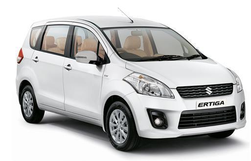 Rental Mobil New Ertiga Lepas Kunci / Dengan Driver