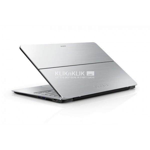 JUAL LAPTOP SONY Vaio Flip 13 Touch SVF13-N17PGS, Silver
