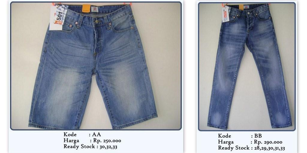 GROSIR & Enceran JEANS LEVI'S 501 (MADE IN USA) (QUALITY AAA)