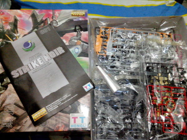 JUAL MURAH : MIB MG STRIKE NOIR by TT HONGLI