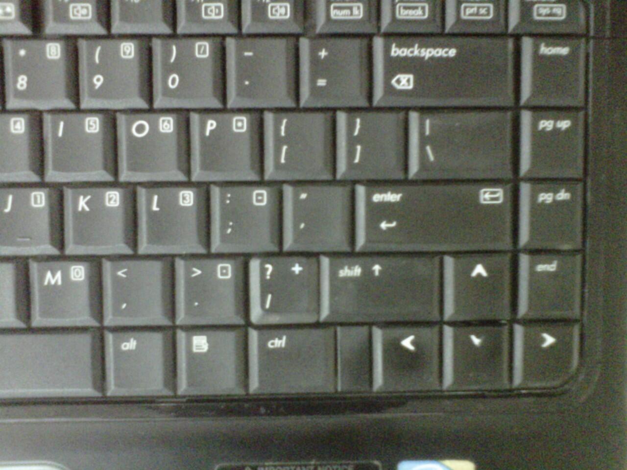 """laptop compaq 510 core2duo/2gb/320gb/14"""" intel 965 cuma 2.3jt [cikarang jakpus]"""