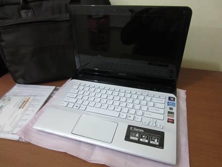 Laptop Gaming Vaio SVE14 ATI 7550M 1GB || Surabaya Masuk.,!!