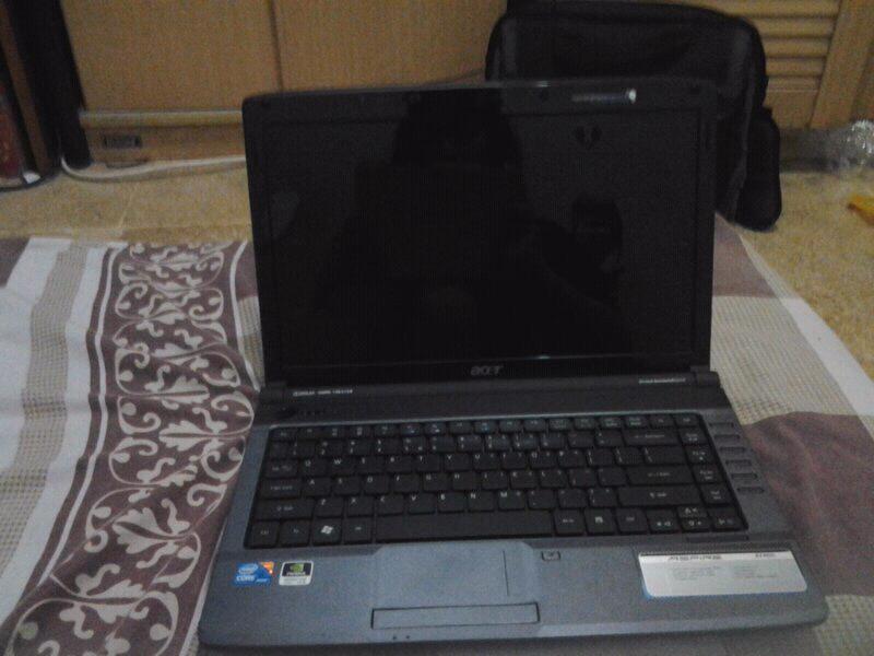 Acer aspire 4740G corei5 turbo 2,27GHz, nvidia GeForce