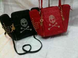TAS FASHION Skull Grade A Leather
