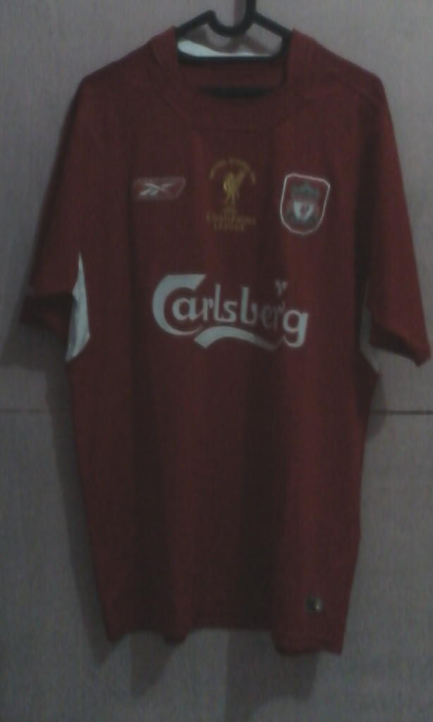 Jersey Liverpool Final Istanbul & Home 2012/2013