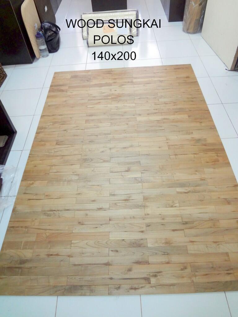 Terjual Jual Wood Carpet karpet kayu TIDAK PERLU DILEM