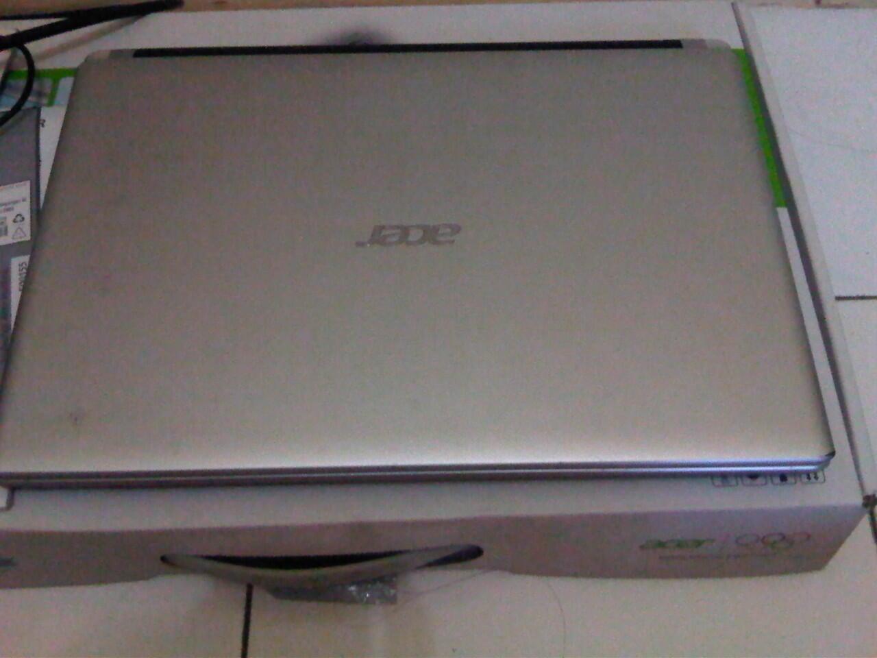 Laptop Slim ACER V5-431 Intel B877 FULL SET SEGEL [Bandung]