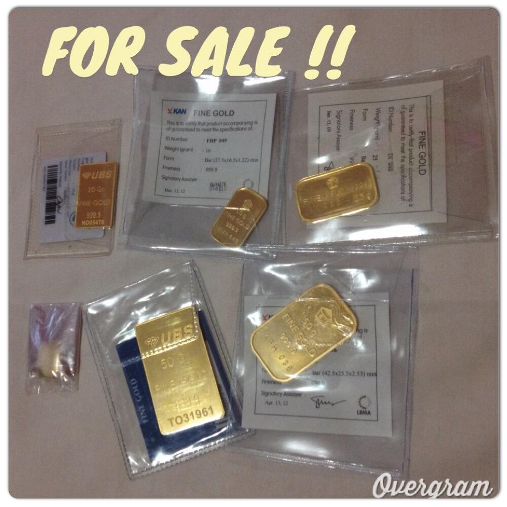 Terjual Jual Emas Antam Ubs Lokal 5 50gram Surabaya Kaskus