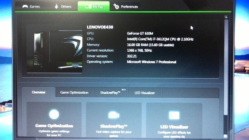 Jual ~> Lenovo E430 i7 + Nvidia GeForce GT630M 2GB 128bit - Jakarta