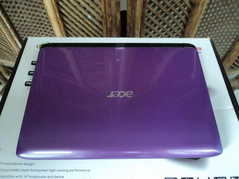 ACER AO532h Atom™ N450 Win 7 original,Battery 6 cell,yuk silahkan di cekk...!!!