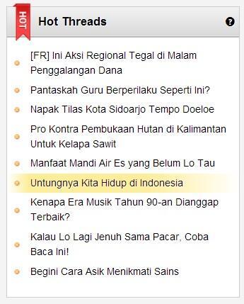 Thank God, I'm Indonesian