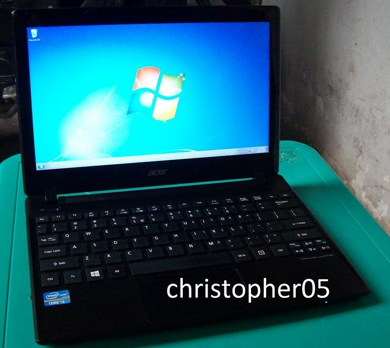 [Bandung] MURAH Netbook Powerfull Acer Travelmate B113, core i3-3217U 2GB 500GB Mulus