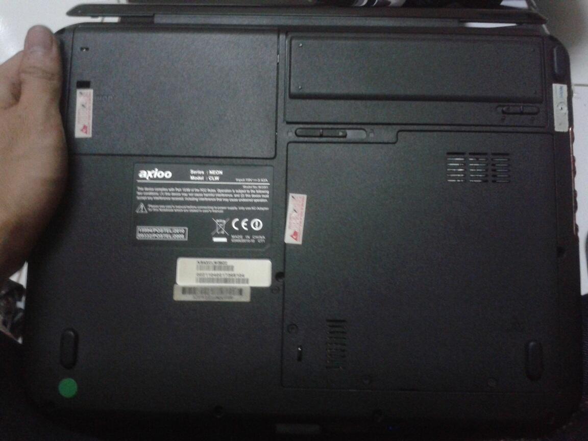 AXIOO NEON CLW Core i3 FULLSET (BANDUNG)