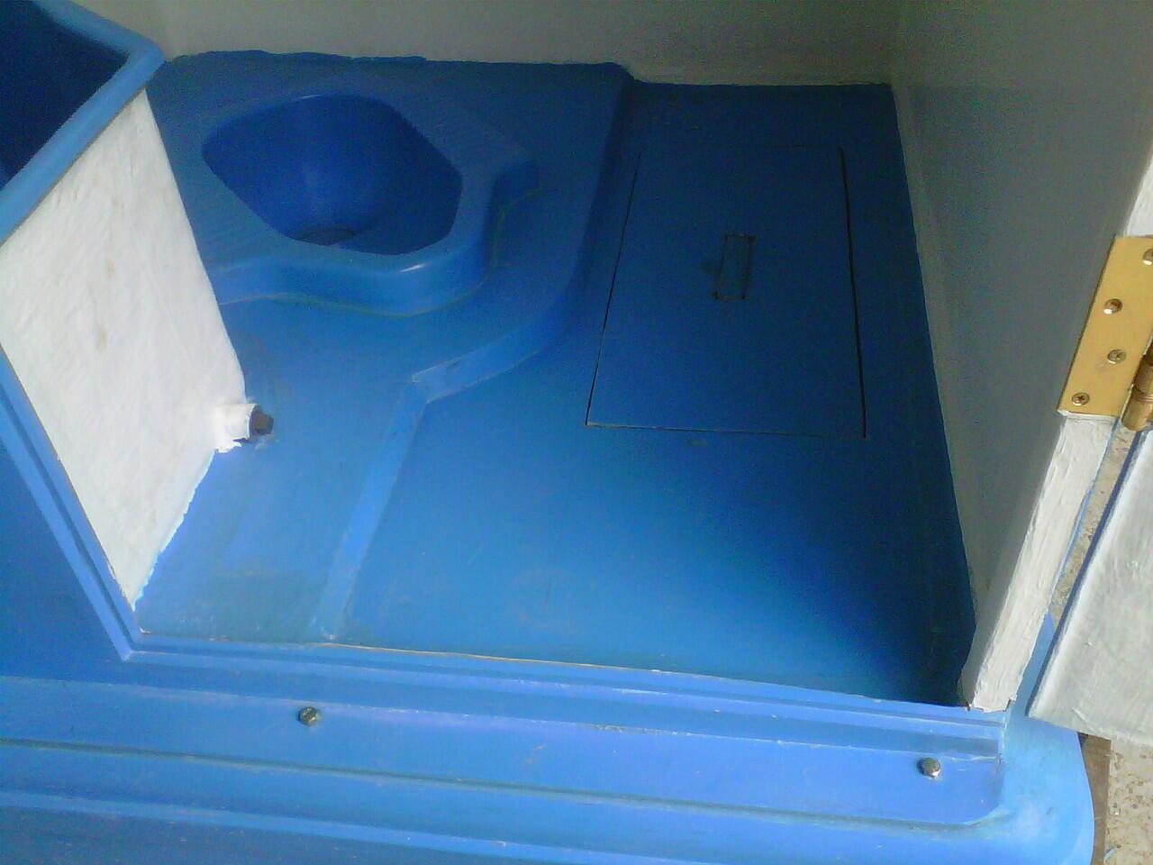 Toilet portable Biolast, Serbaguna Toilet portable, Modern toilet portable Biolast