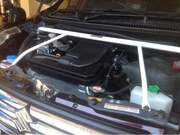 Strutbar,stabilizer,lower bar khusus Ertiga/Mazda VX-1 dan Honda Mobilio/Brio