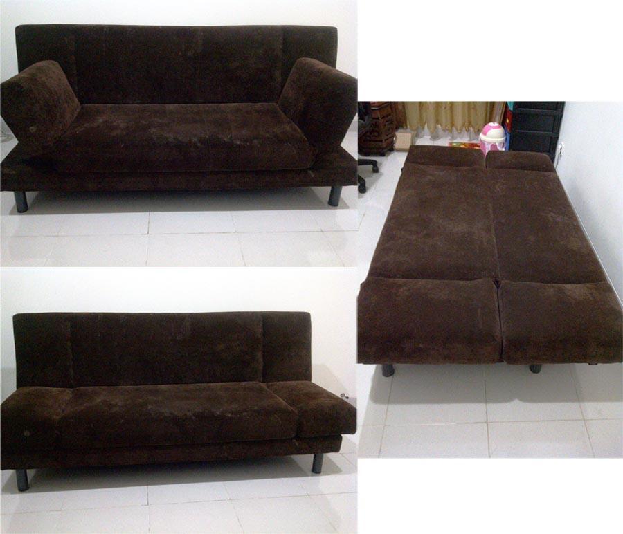 Terjual Jual Sofa Bed Informa Sofa L Bagus Murah Dan
