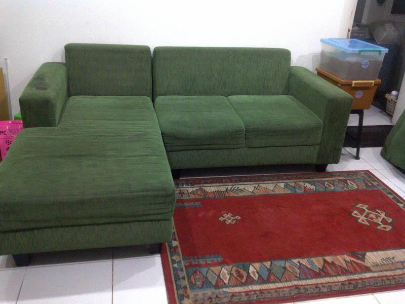 Harga sofa bed informa rs gold sofa for Sofa bed jual