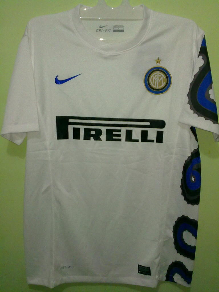 Jersey Grade Ori Inter Milan Away 2010/2011