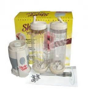 Blender Shake And Take 2 Tabung Dengan Botol Minum