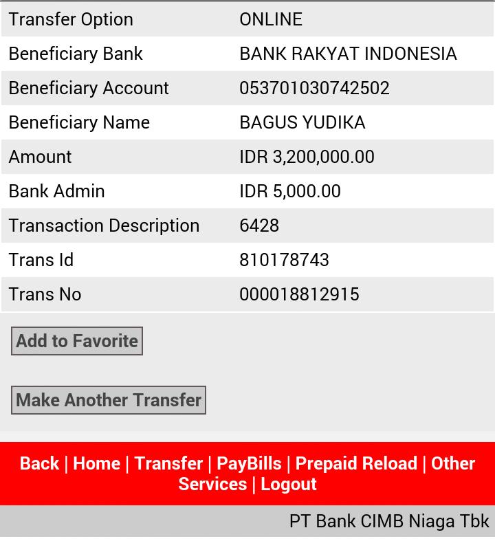 Surat Terbuka untuk ID bensezar47777 REK BRI BAGUS