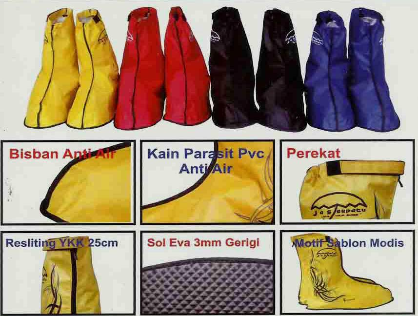 (Peluang Bisnis/usaha) Reseler/Agen Jas Sepatu anti hujan Fun Cover