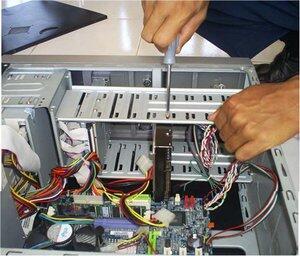 Service dan install ulang komputer/notebook panggilan
