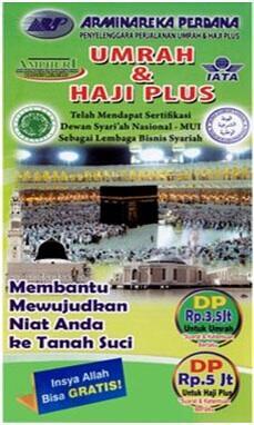 Paket Umroh dan Haji Plus dengan biaya terjangkau