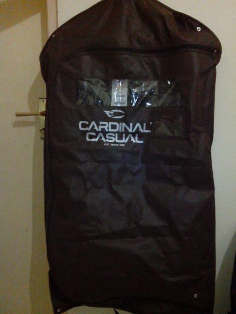 [ JUAL ] Jaket Cardinal Casual Warna Hitam Polos