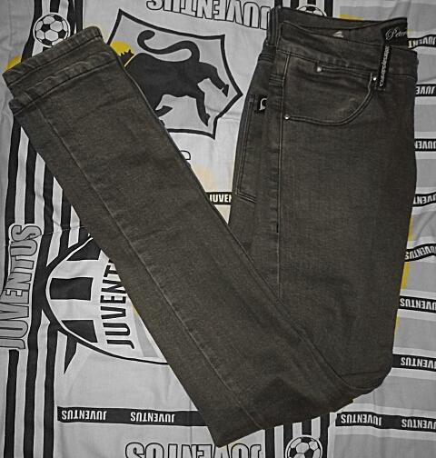CELANA JEANS PETER SAYS DENIM PSD ORIGINAL DARK BROWN SZ 30 MURAH