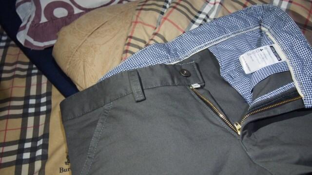 Jual Celana Chino Dark Grey Ready Stock
