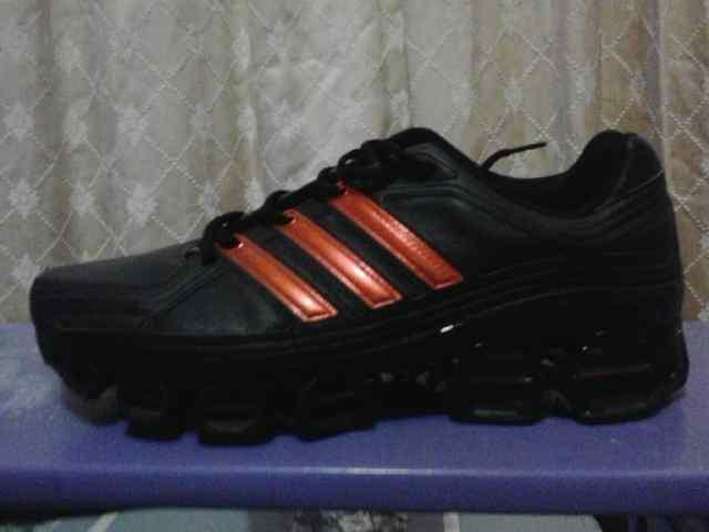 Adidas original hitam list orange