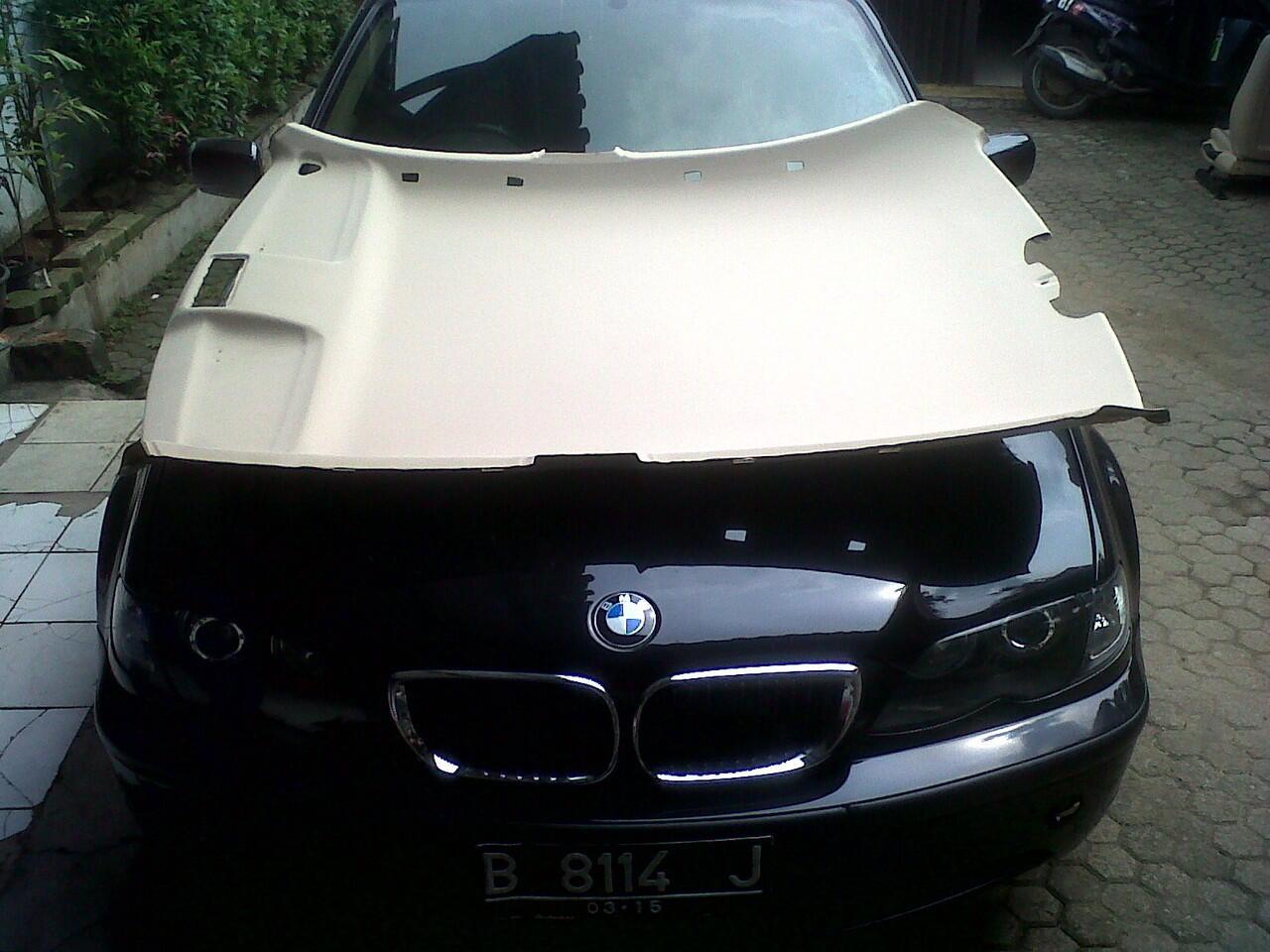 BMW service speciaist perbaikan plafon mobil @ jakarta, depok. www.plafonbmw.com
