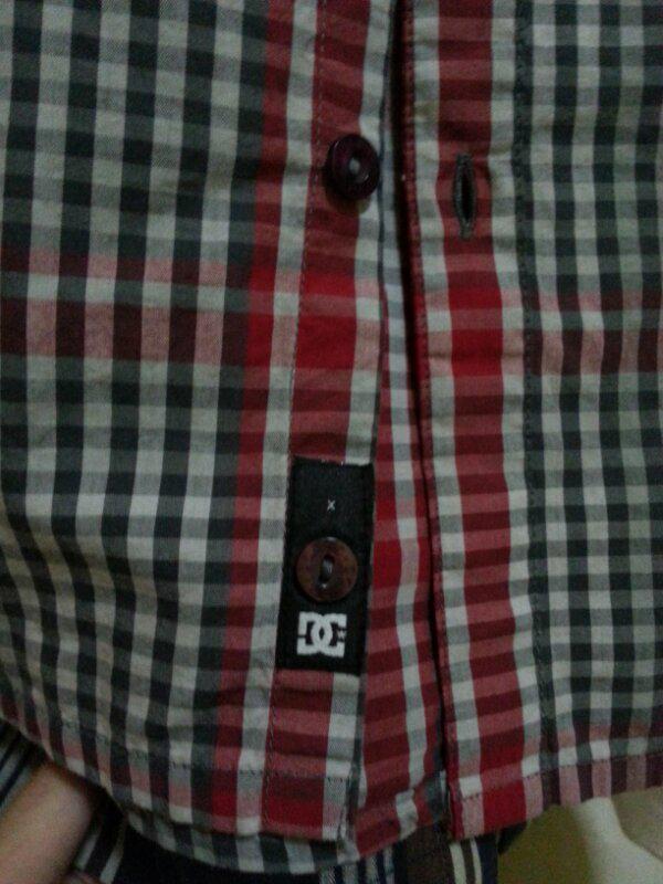 jual shirt DC ORIGINAL