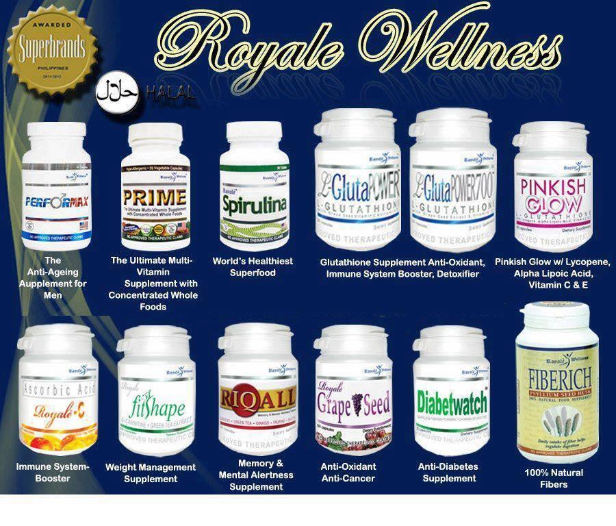 Royale Produk Kecantikan dan Suplemen Kesehatan (Made in Philippine) SUPERBRANDS !!